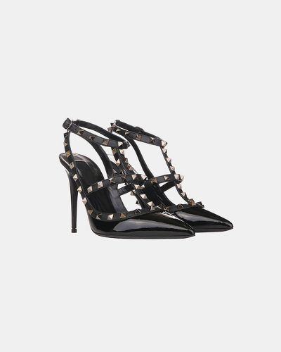 Stumped Heel Stiletto - Black